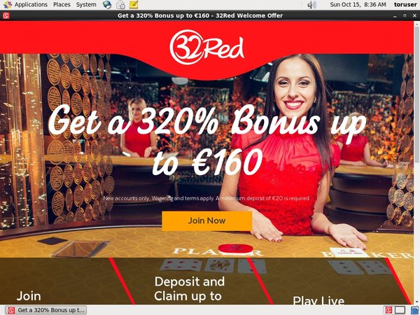 32red Bonus Code Offer