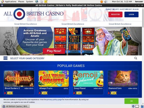 Allbritishcasino Withdrawal Time