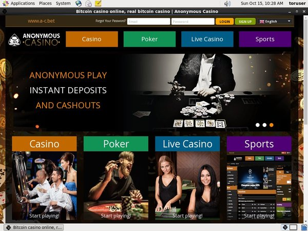 Anonymouscasino Limited Deal