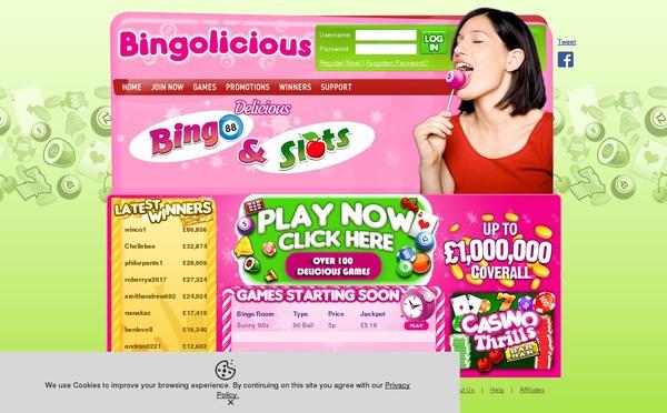Bingolicious Promotion Code