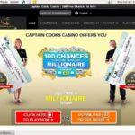 Captaincookscasino Casino Bonus