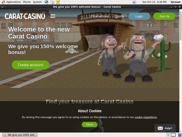 Caratcasino Telephone Betting