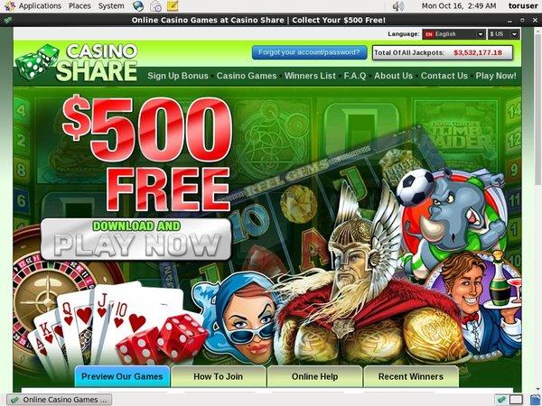 Casino Share New Online Slots