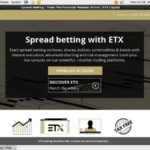 Etxcapital New Account