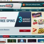 Euroslots Mobile Casino