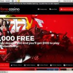 Fone Casino Deposit Coupon