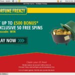Fortune Frenzy Freebet