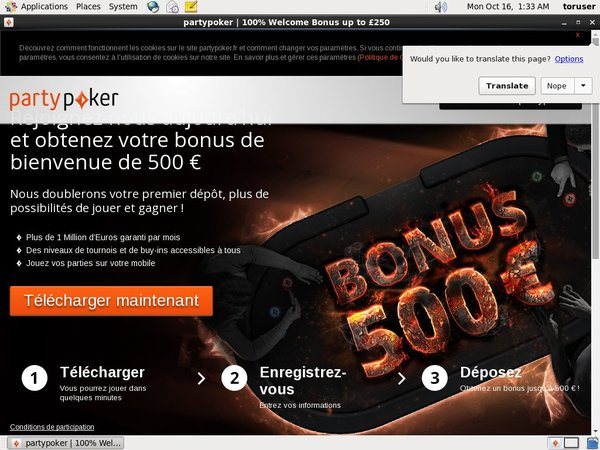 Free Party Poker Bonus