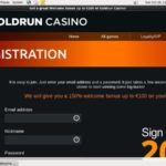 Goldrun Welcome Bonus No Deposit