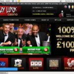 Login To Crazyluckcasino