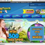 Lucky Touch Bingo New Customer Promo
