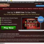 Music Hall Casino Player Account