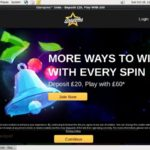 New Starspins Account