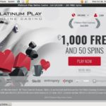 Platinum Play Spins Free