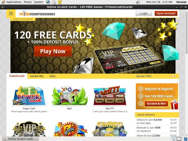 Prime Scratch Cards Football Betting