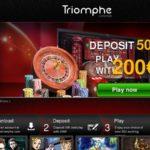 Starburst Triomphe Casino