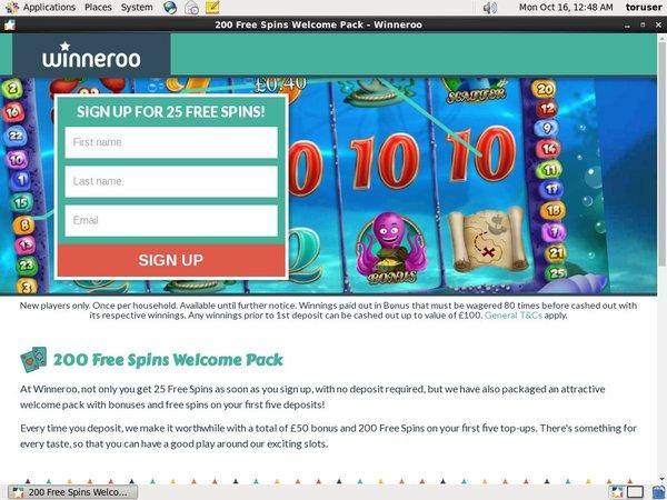 Winneroo Welcome Package