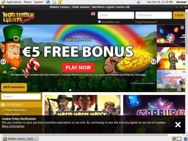 Northern Lights Casino Signup Bonus