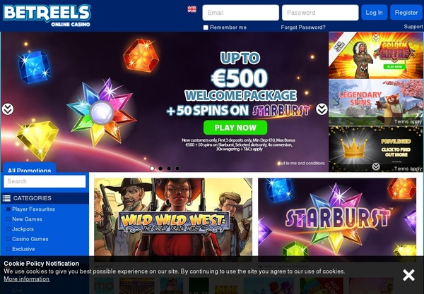 Bet Reels Fixed Odds