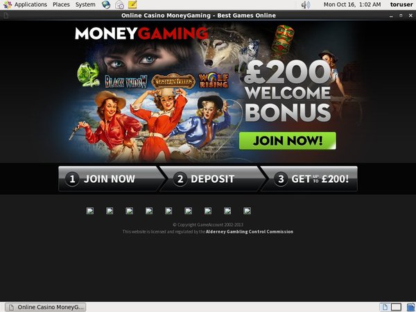 Moneygaming Bitcoin Deposit