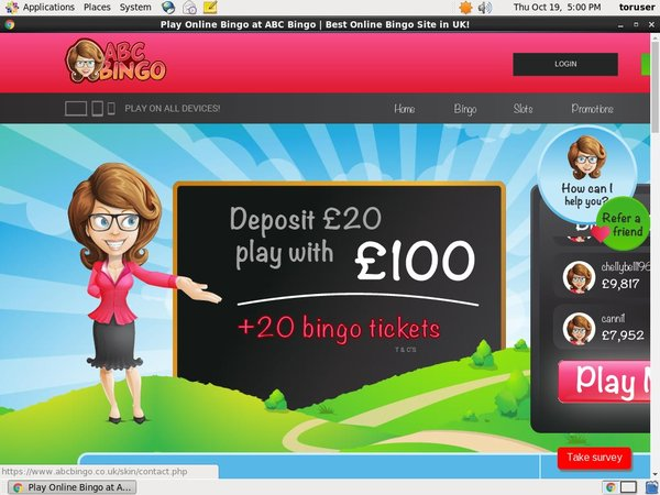 ABC Bingo Join Offer
