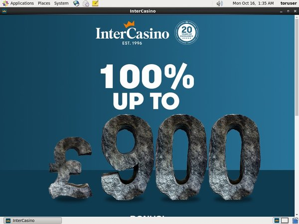 Intercasino Make Bet