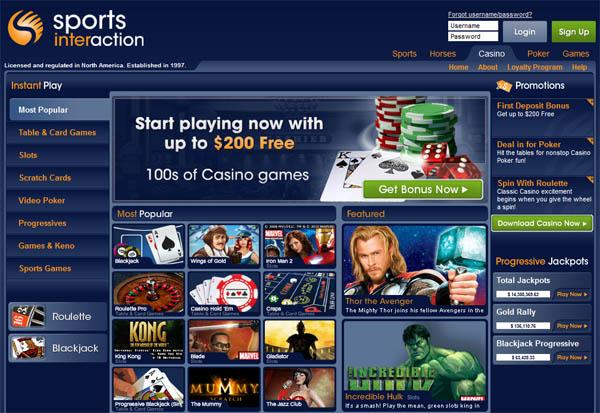 Sportsinteraction Bonus Offer