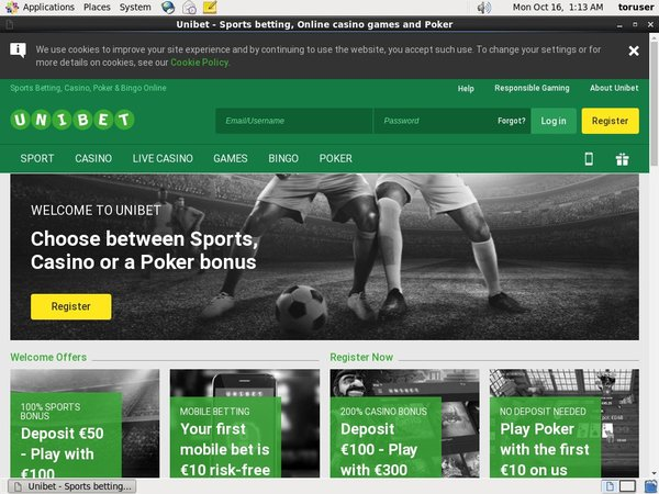Unibet Mobile Free Spins