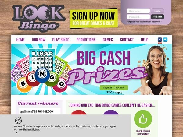 Look Bingo Get Bonus