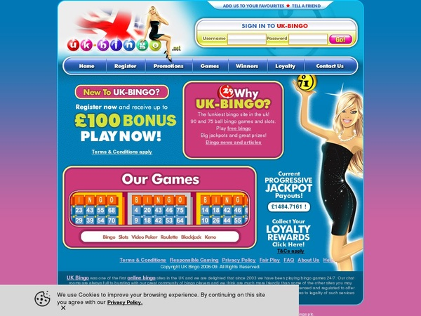 UK-Bingo Deposit Offer