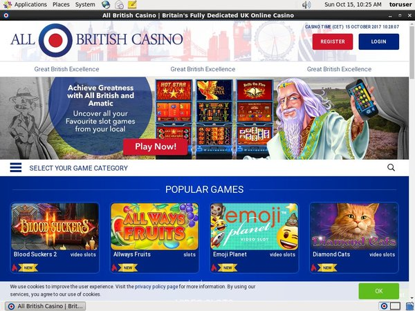 Extra Bonus All British Casino