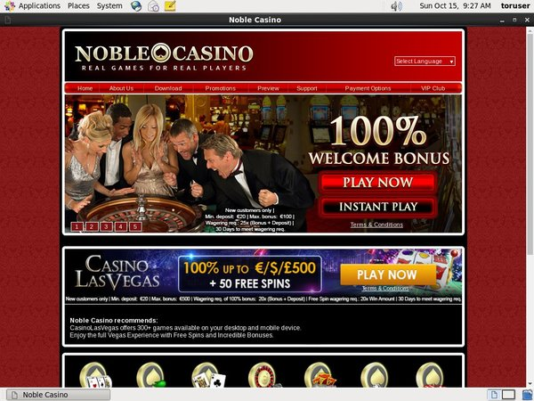 Noble Casino With Bitcoin