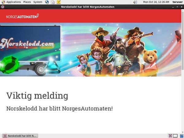 Norskelodd Mobile