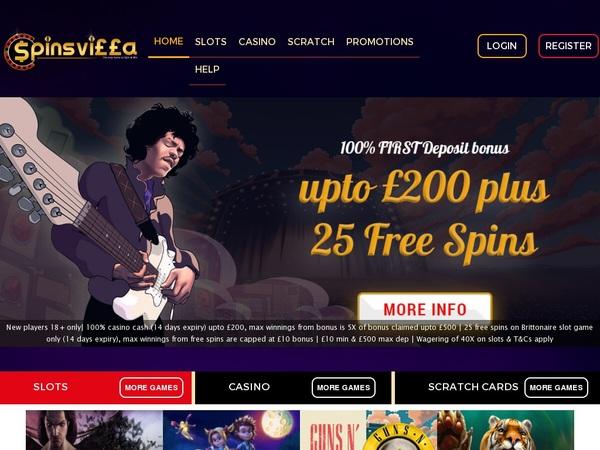 Spinsvilla Signup Bonus Offer