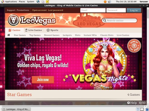 Leo Vegas Become A Vip