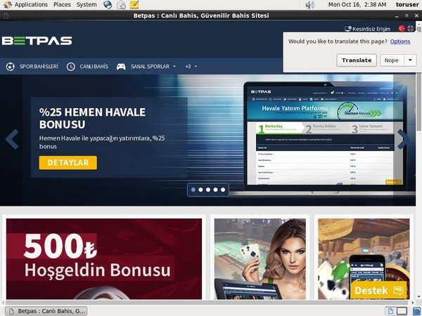 Betpas Join Up Bonus