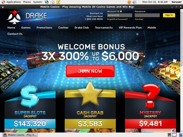 Drakecasino Introductory Offer