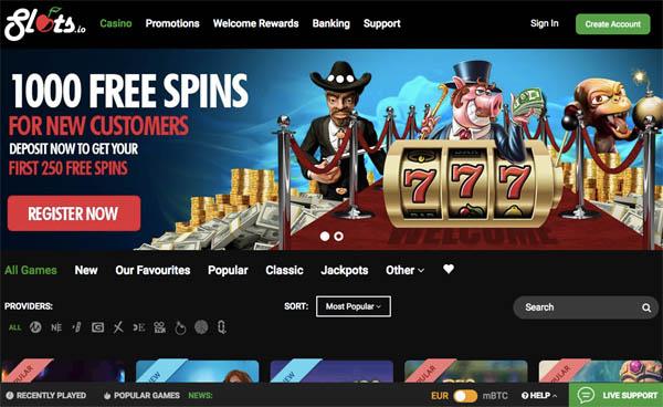 Slots.io No Deposit Bonus 2018