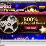 Bingo Hollywood Payout