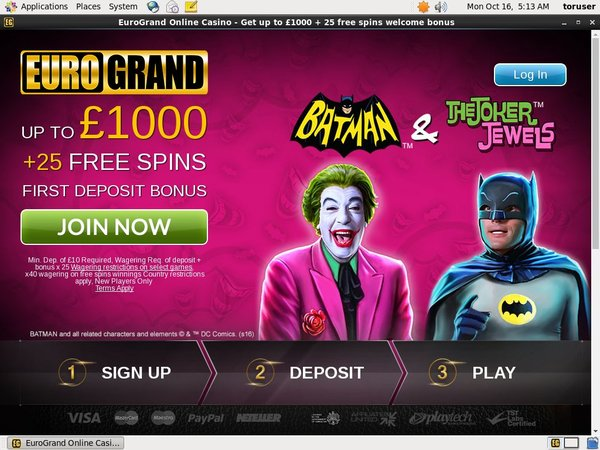 Euro Grand Casino Casinos Online
