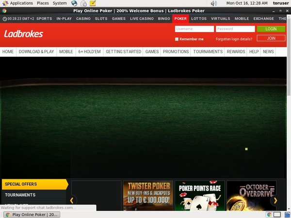 Ladbrokes Poker Dot Pay