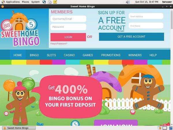 Sweethome Bingo Discount