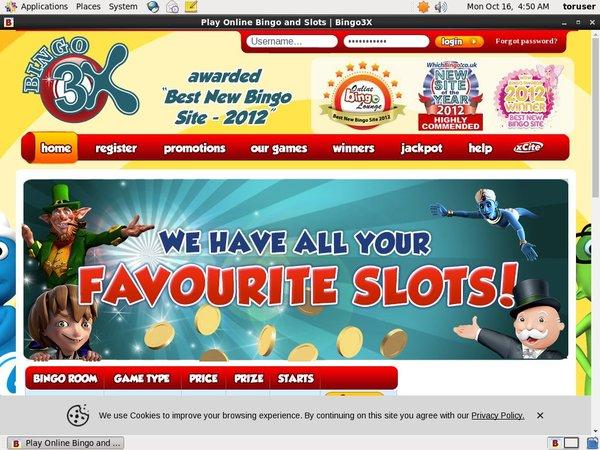 Bingo3x Match Deposit