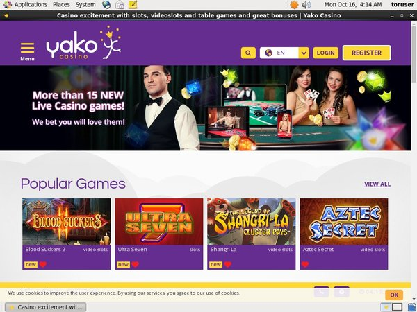 Does Yako Casino Accept Paypal