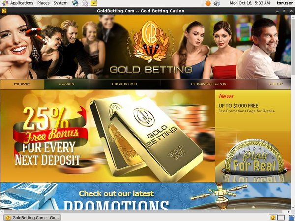 Free Gold Betting Spins