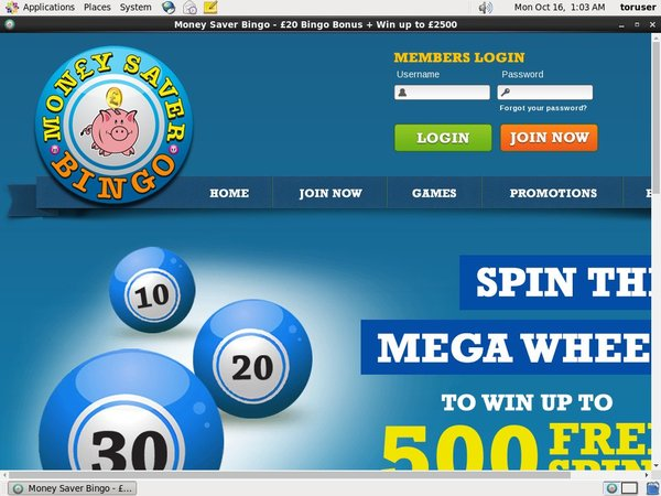Money Saver Bingo Sports Odds