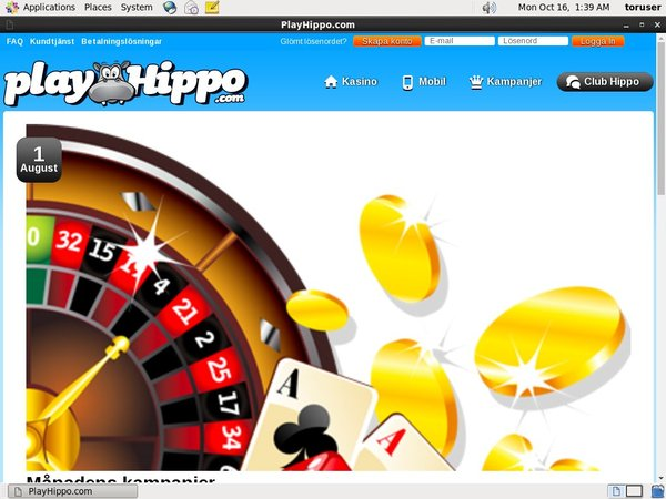 Play Hippo Mobile Casino