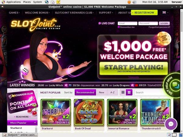 Slot Joint Paypal Bingo
