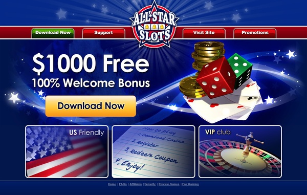 All Star Slots Matching Bonus