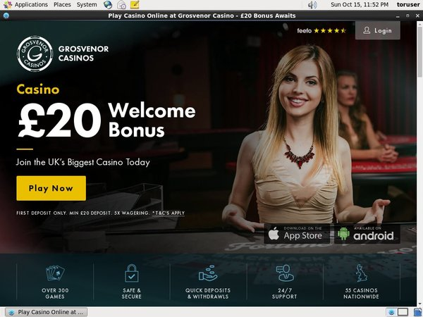 Grosvenorcasinos Join Promo